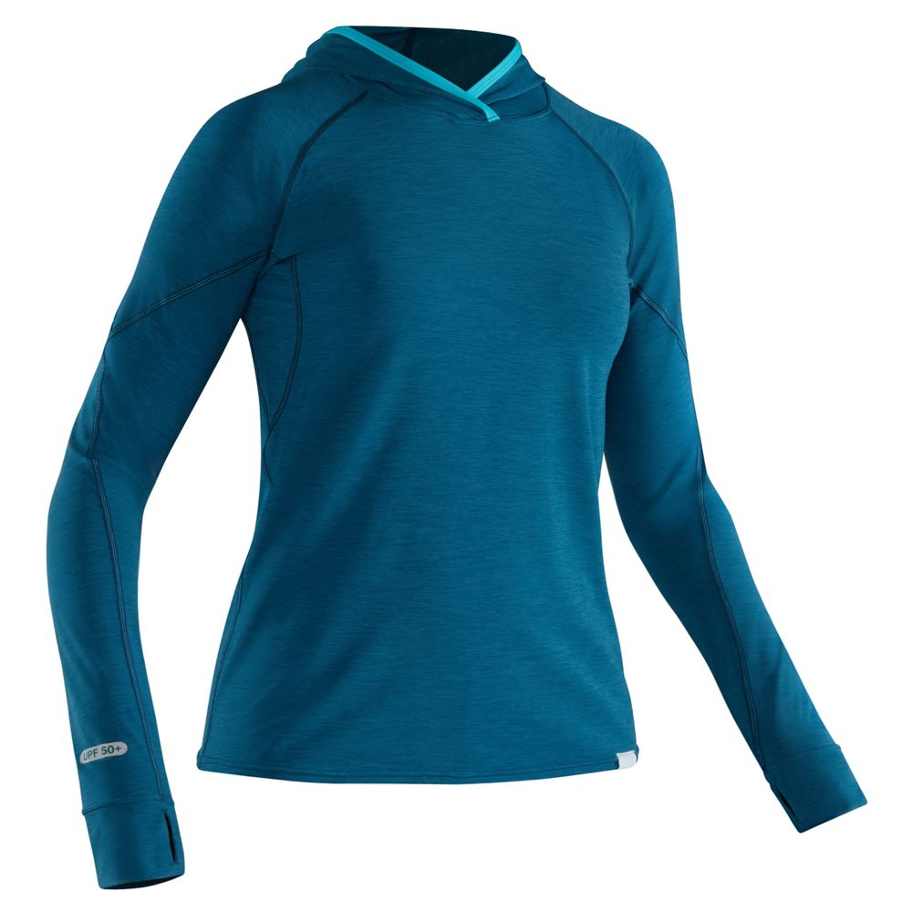 Image for NRS Women's H2Core Silkweight Hoodie - Closeout