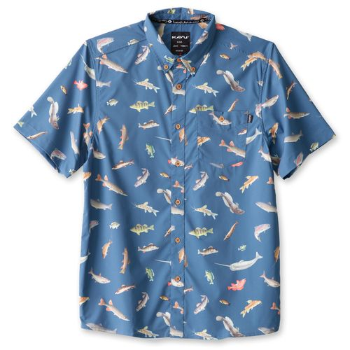 Image for Kavu Men's River Wrangler Shirt