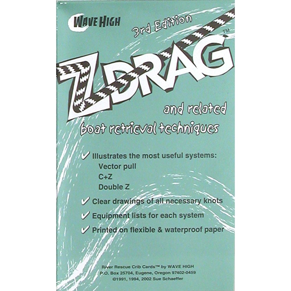 Image for Z-Drag Rescue Crib Sheet