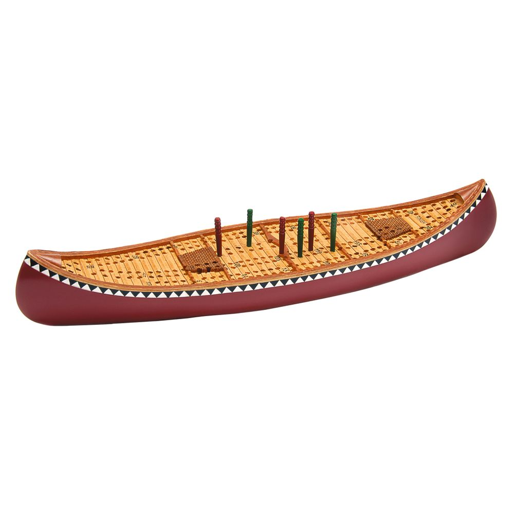 Image for Canoe Cribbage Board