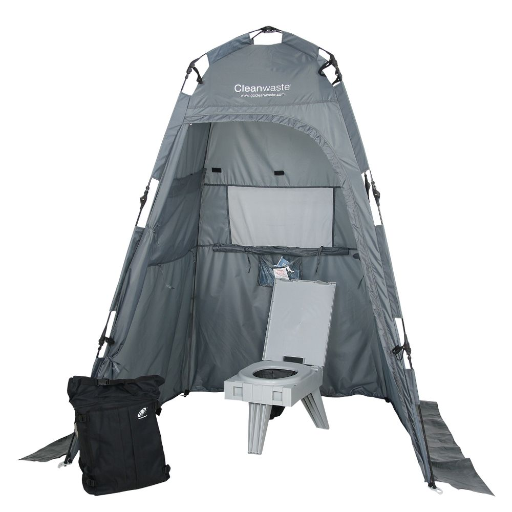Image for Cleanwaste Toilet System Kit with Shelter