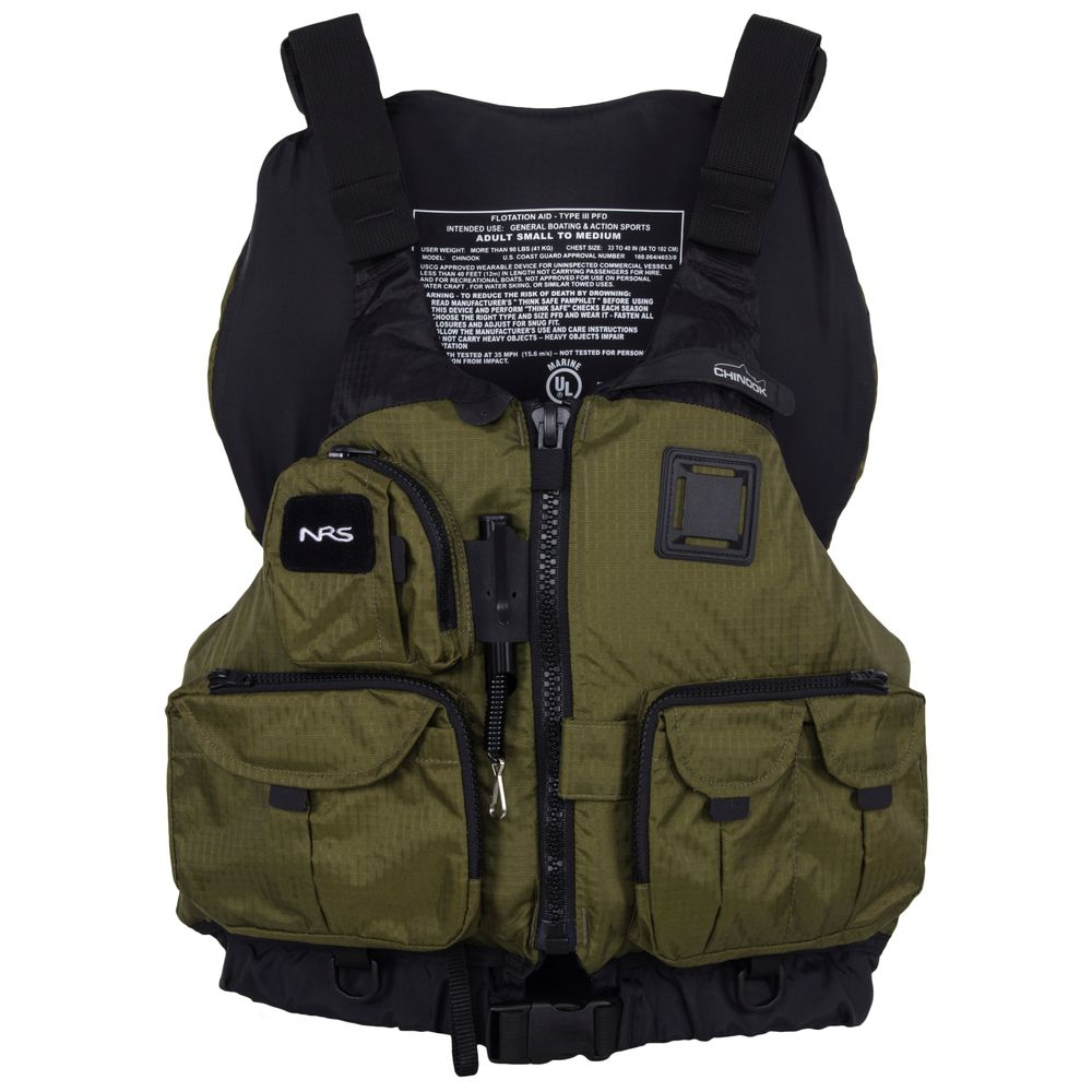 Image for NRS Chinook Mesh Back Fishing PFD