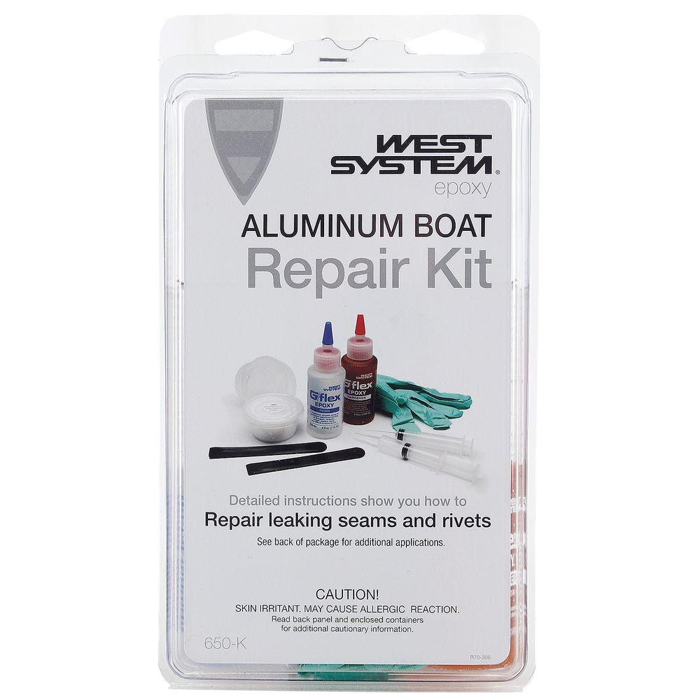 G/flex 650-K Aluminum Boat Repair Kit