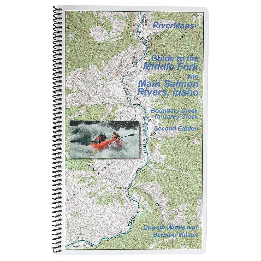 Image for RiverMaps Middle Fork & Main Salmon River 2nd Edition Guide Book