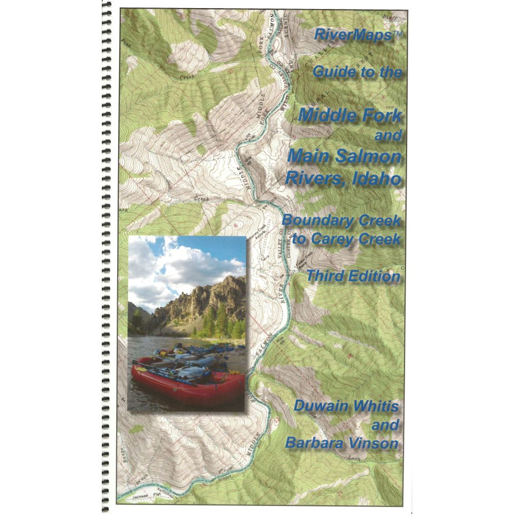 Image for RiverMaps Middle Fork & Main Salmon River 3rd Edition Guide Book