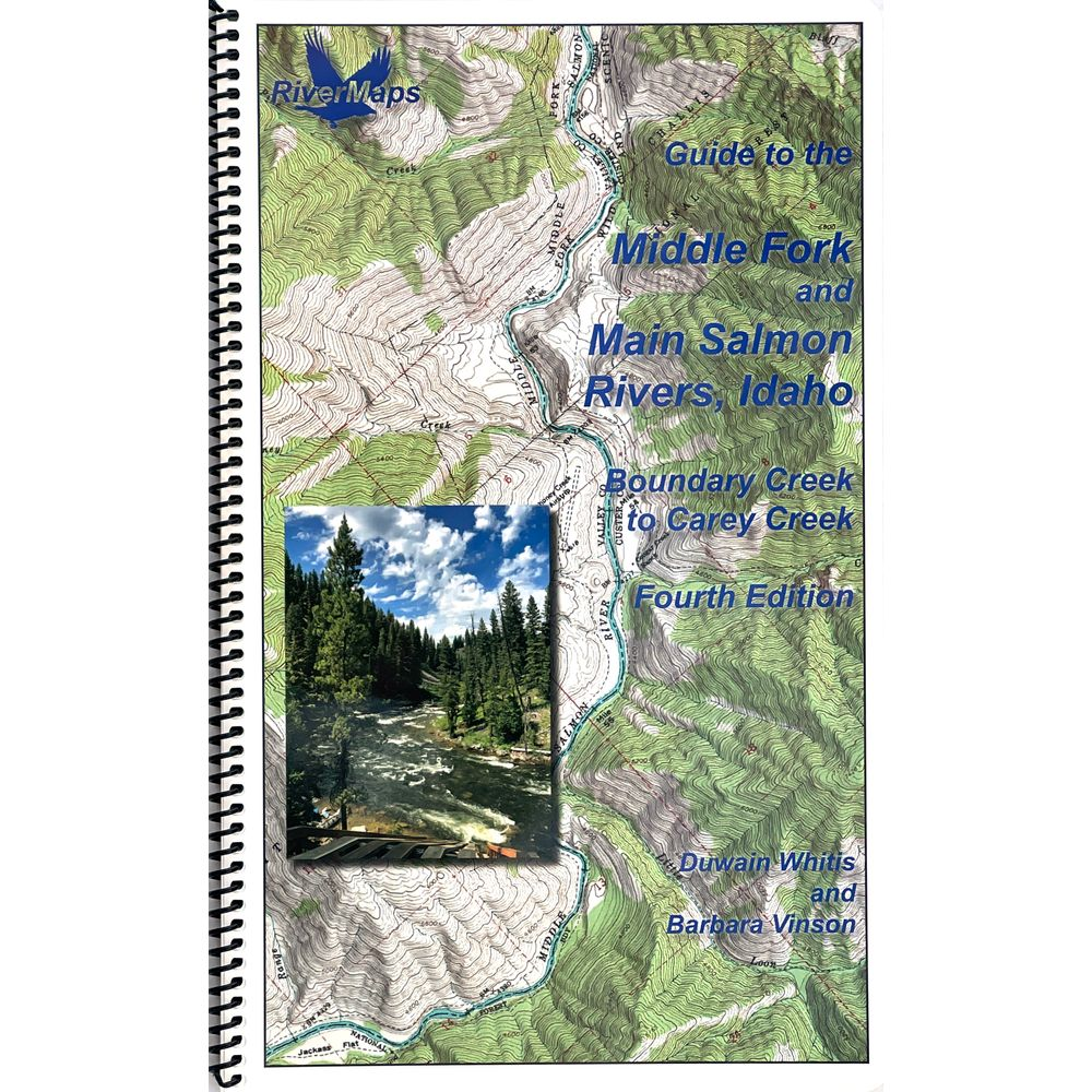 Image for RiverMaps Middle Fork & Main Salmon River 4th Edition Guide Book