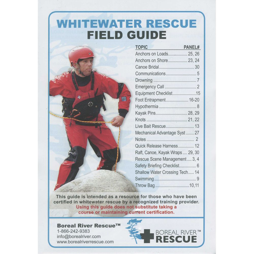 Image for Whitewater Rescue Field Guide