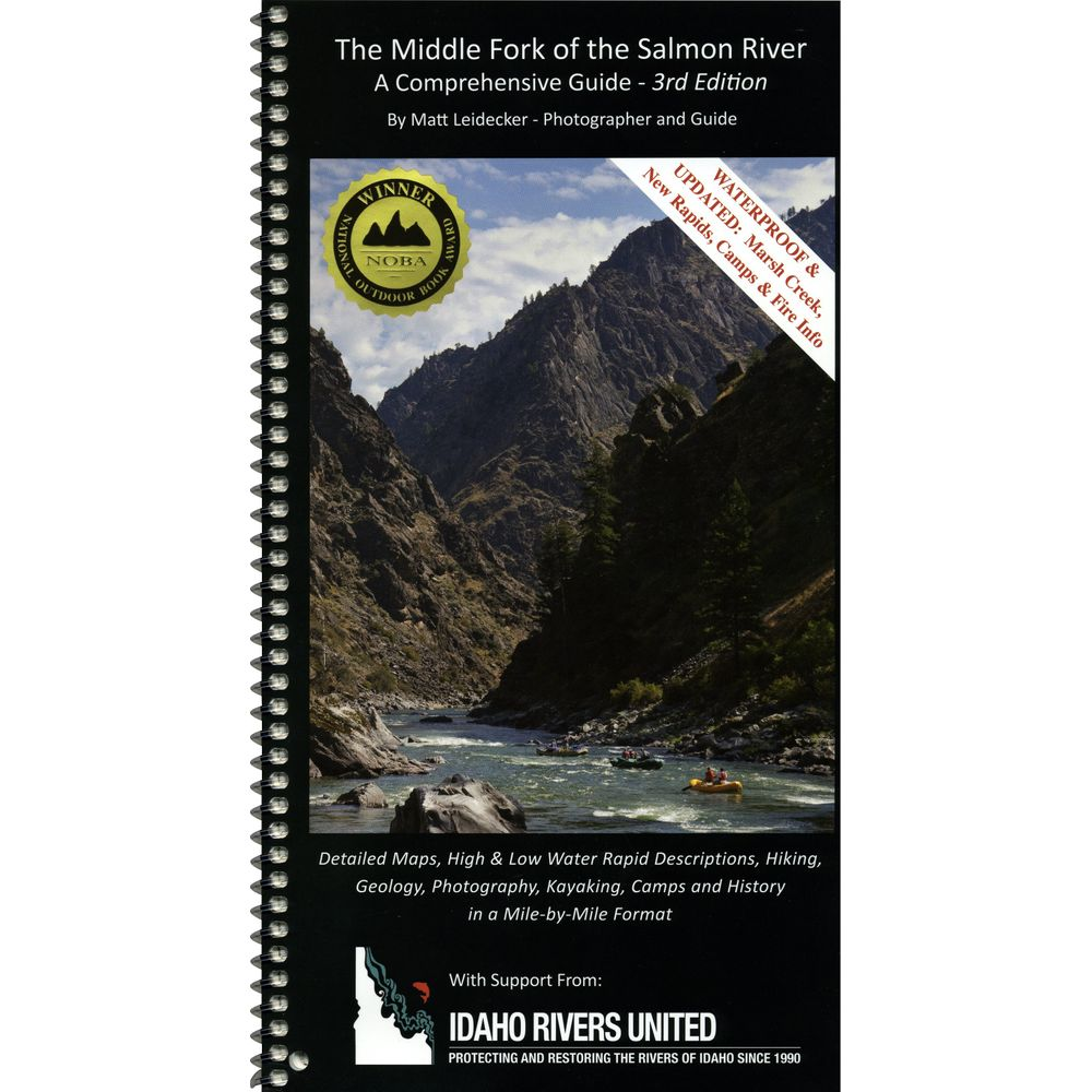Image for Middle Fork of the Salmon River Guide Book 3rd Ed.
