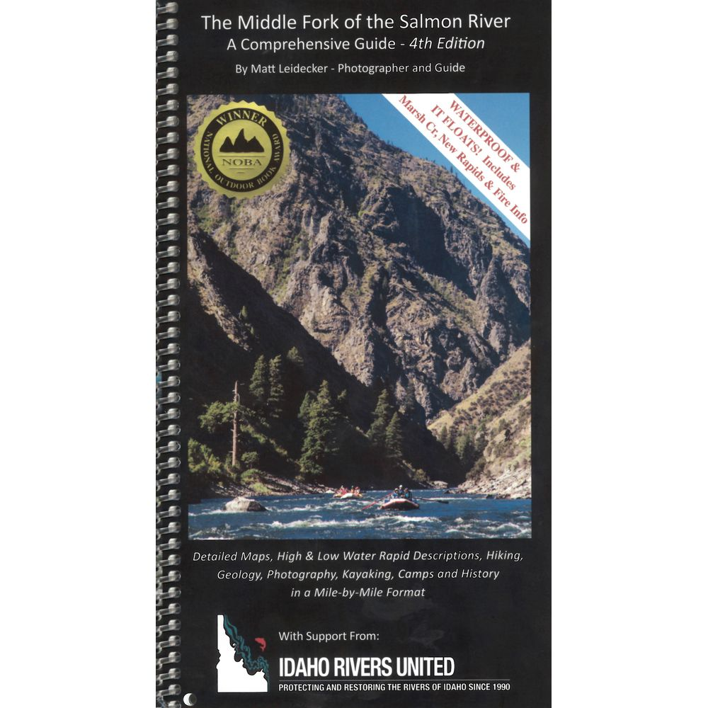 Image for Middle Fork of the Salmon River Guide Book 4th Ed.