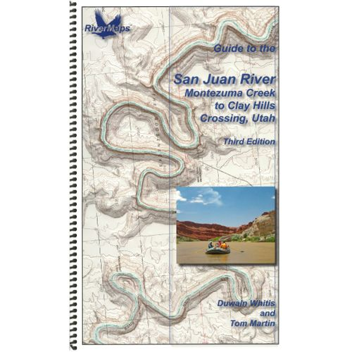 Image for RiverMaps San Juan River 3rd Edition Guide Book