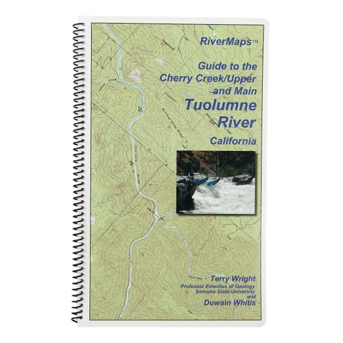 Image for RiverMaps Cherry Creek & Tuolomne River Guide Book