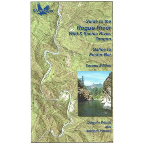Image for RiverMaps Rogue River 2nd Edition Guide Book
