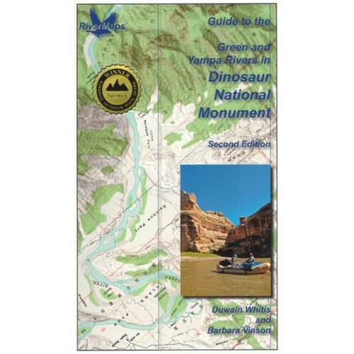 Image for RiverMaps Green & Yampa in Dinosaur National Monument Guide Book