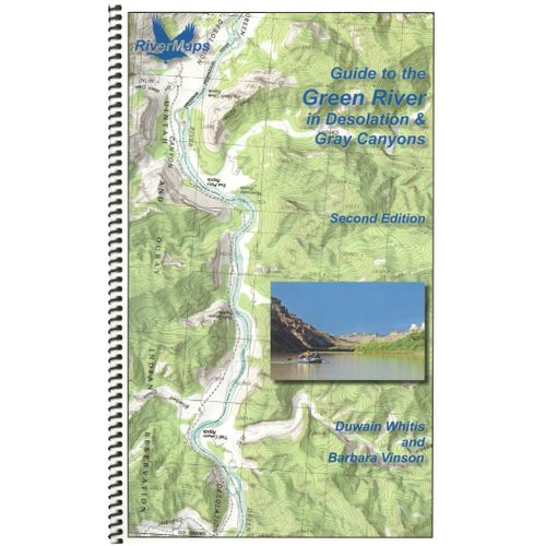 Image for RiverMaps Green River in Desolation & Gray Canyons Guide Book