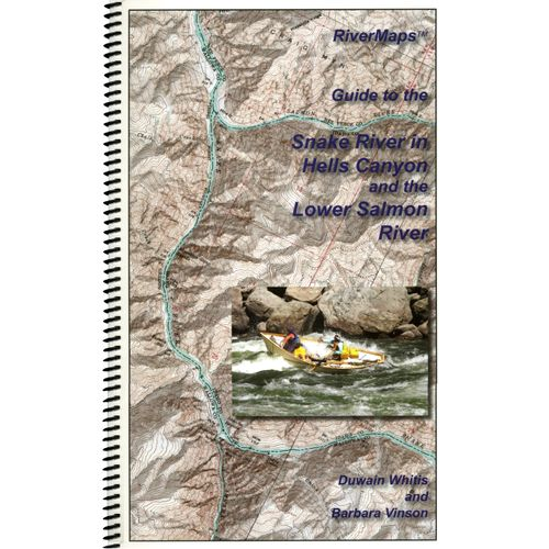 Image for RiverMaps Hell's Canyon & Lower Salmon Guide Book