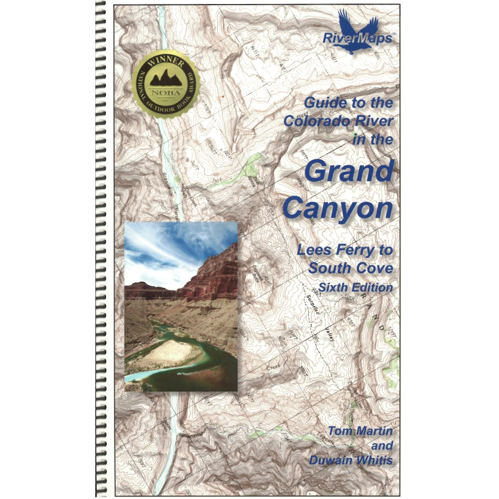 Image for RiverMaps Colorado River in the Grand Canyon 6th Ed. Guide Book