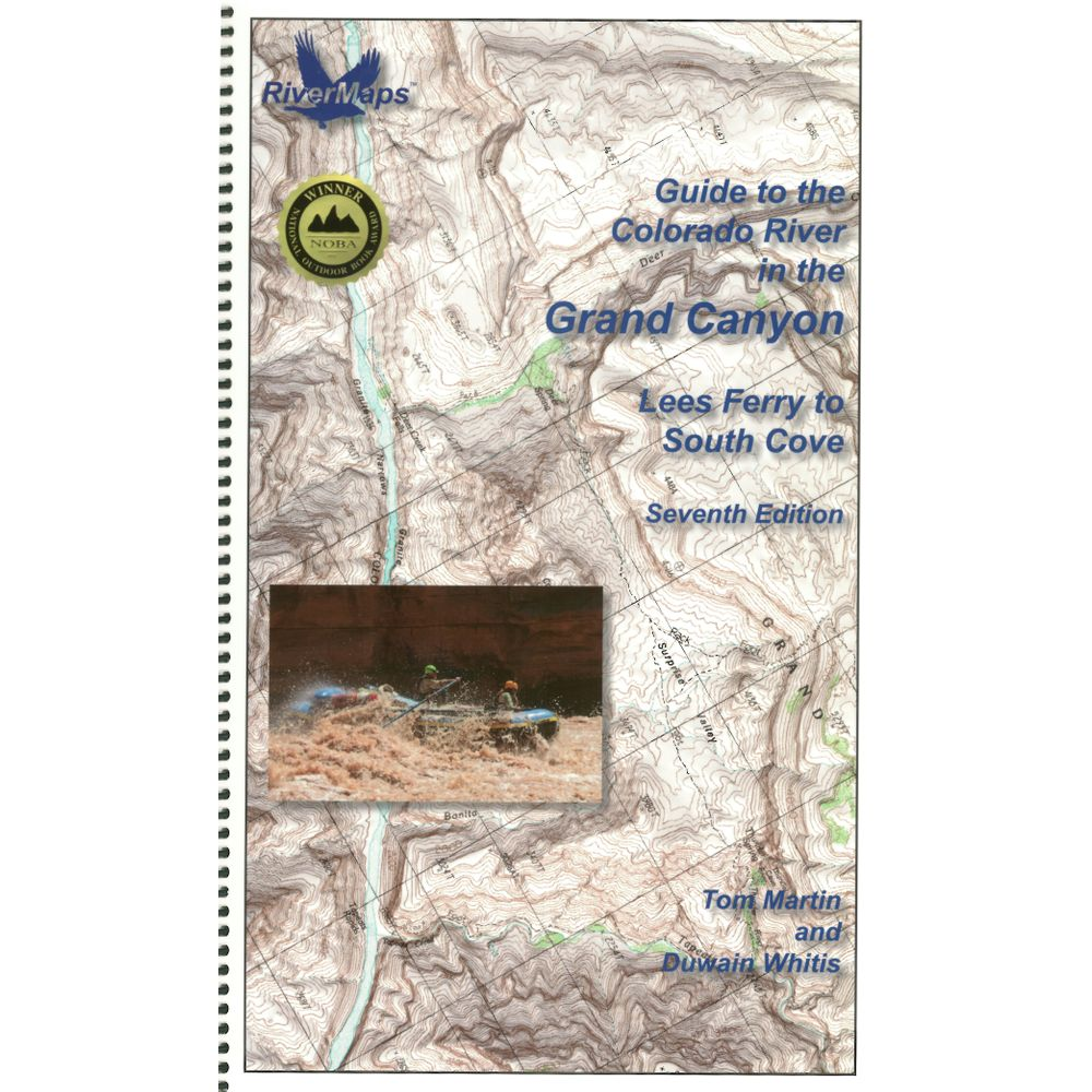 RiverMaps Colorado River in the Grand Canyon 7th Ed. Guide Book