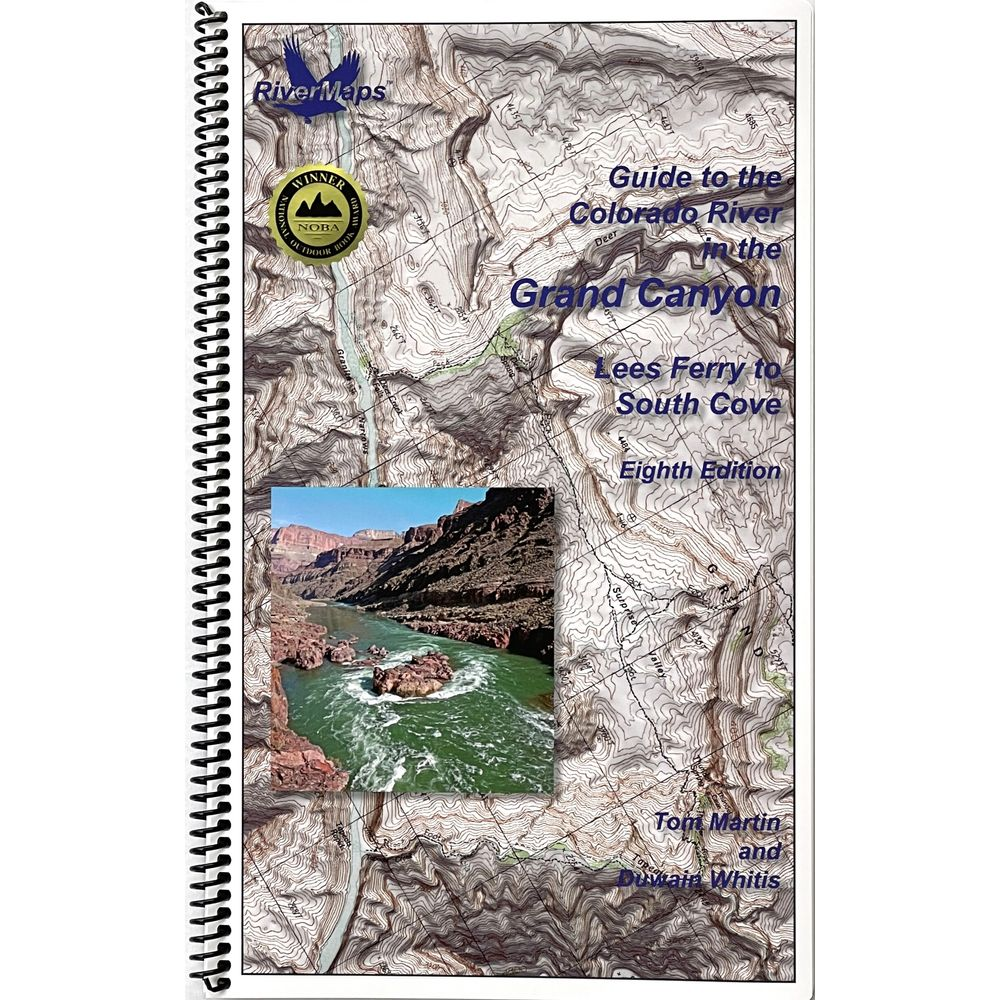 Image for RiverMaps Colorado River in the Grand Canyon 8th Edition Guide Book