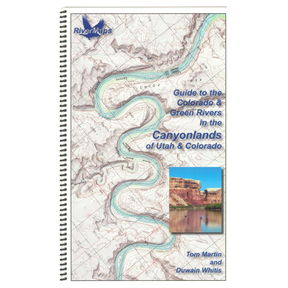 Image for RiverMaps Colorado & Green Rivers in the Canyonlands Guide Book