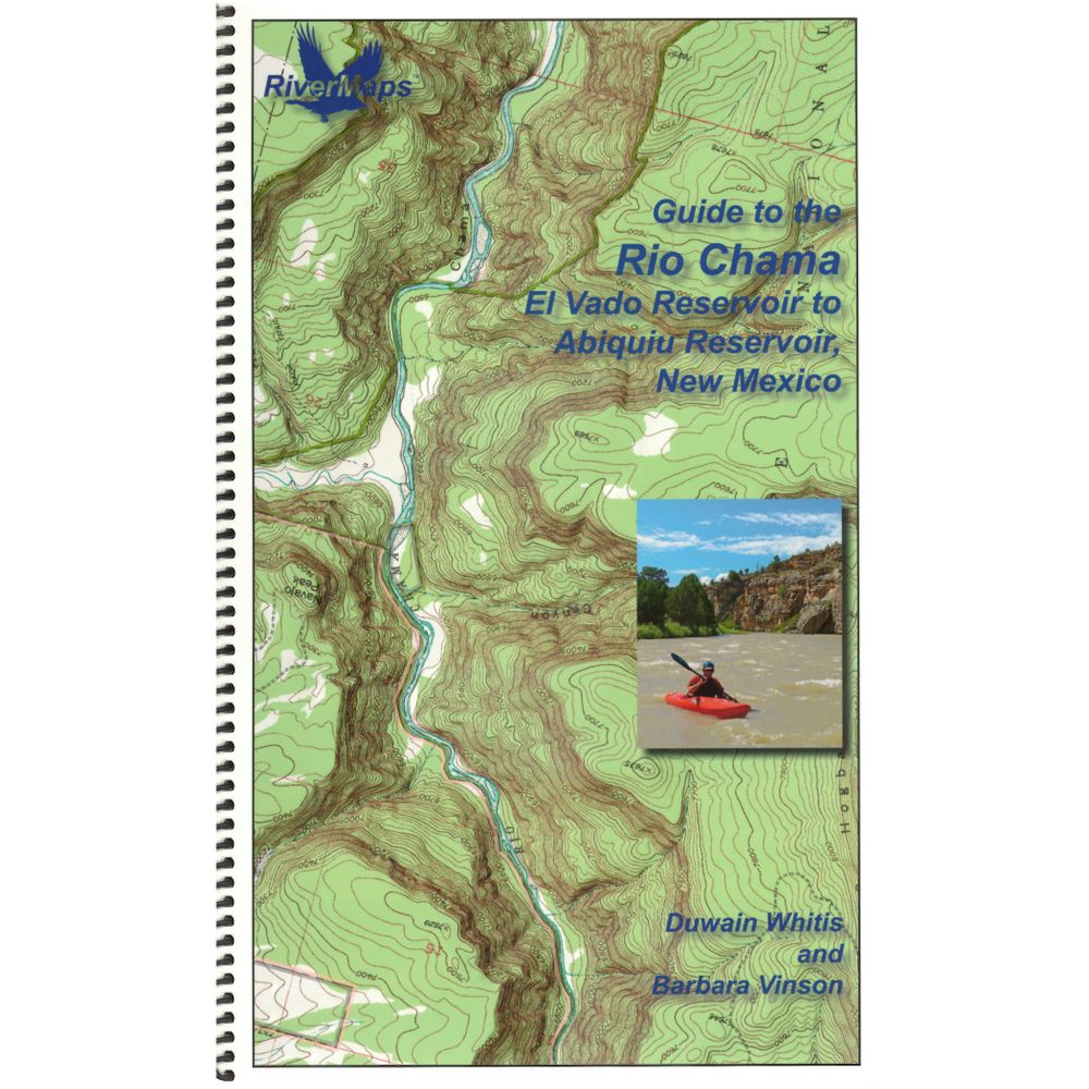 Image for RiverMaps Rio Chama New Mexico Guide Book