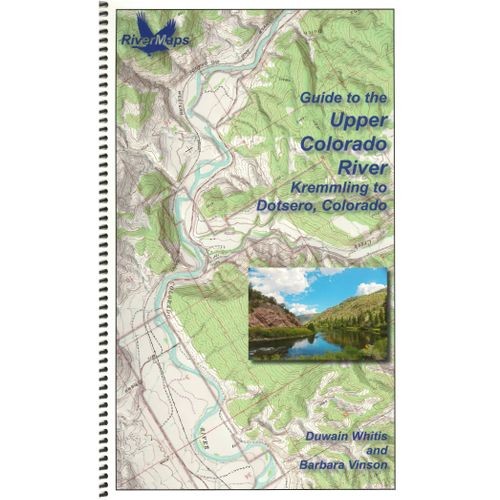 Image for RiverMaps Upper Colorado River Guide Book