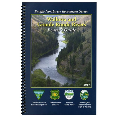 Image for Wallowa & Grande Ronde Rivers Boater's Guide Book