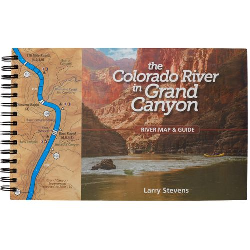 Image for The Colorado River in Grand Canyon River Map & Guide