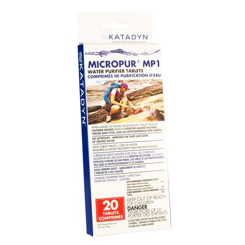 Image for Katadyn Micropur MP1 Water Purifier Tablets