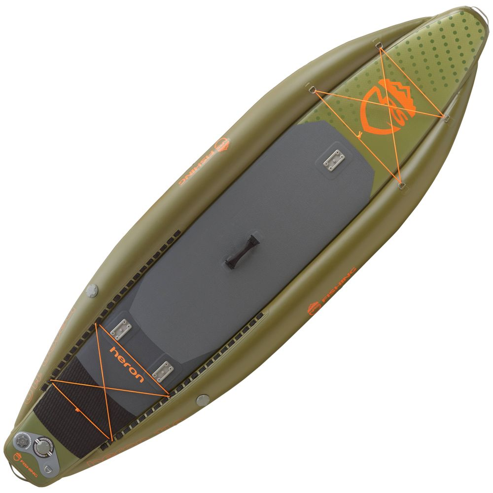 Image for NRS Heron Fishing Inflatable SUP Board (Used)