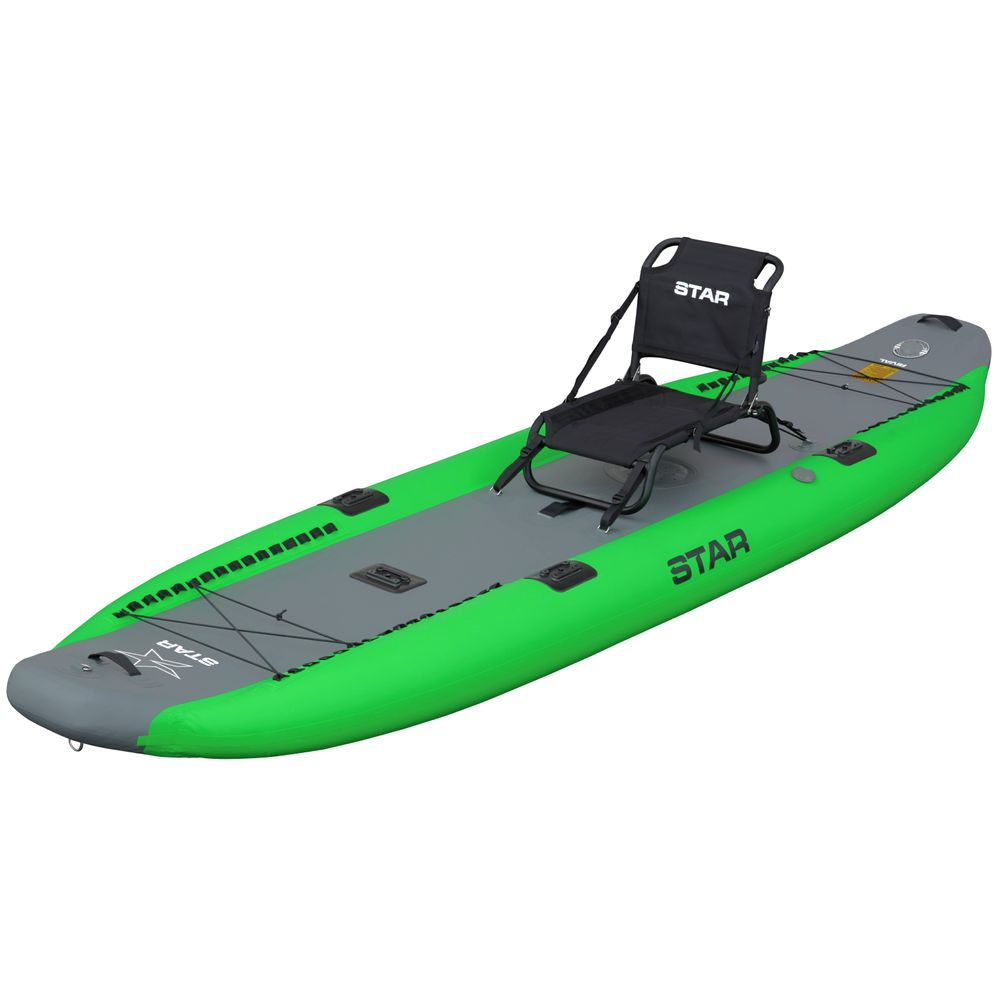 Image for STAR Rival Inflatable Fishing Kayak (Used)