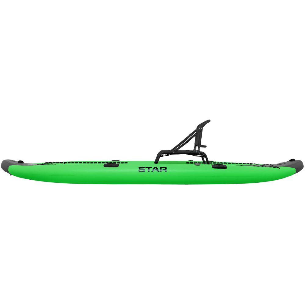 STAR Rival Inflatable Fishing Kayak at nrs com