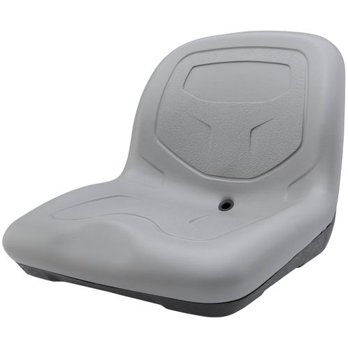 Image for High-Back Padded Drain Hole Seat