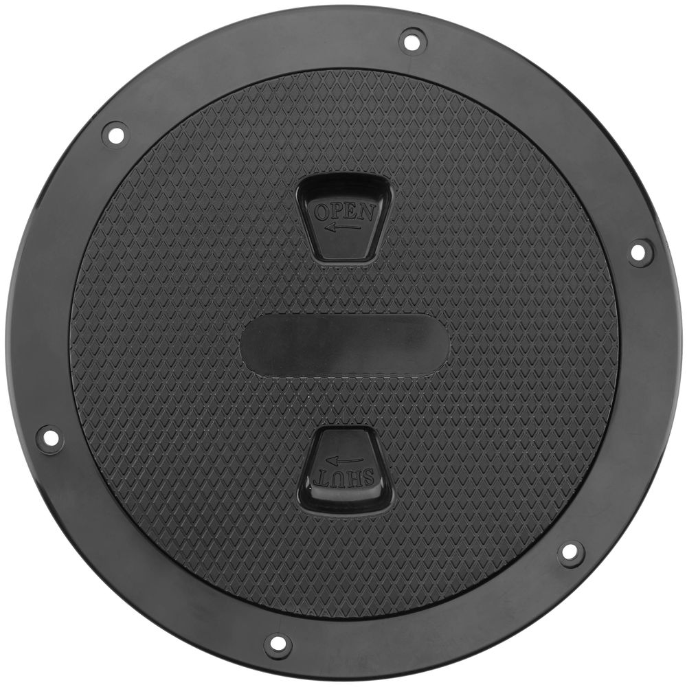 """Image for Beckson 6"""" Screw-Out Deck Plate"""